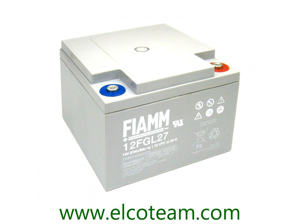 Sealed lead acid battery 12V 26Ah EnergyTeam