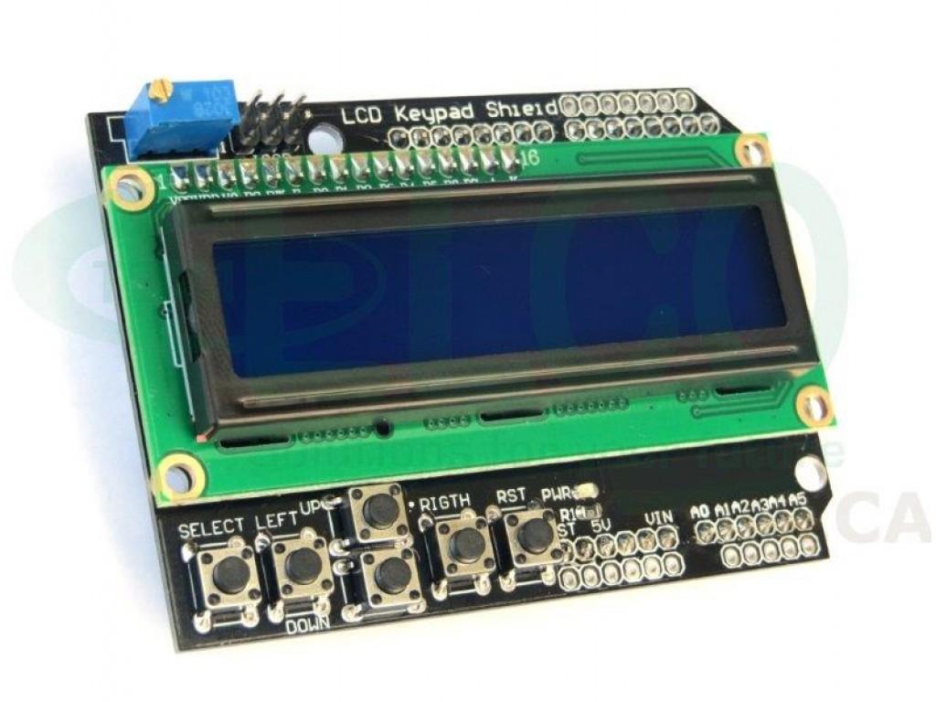Shield for Arduino LCD Display Keypad