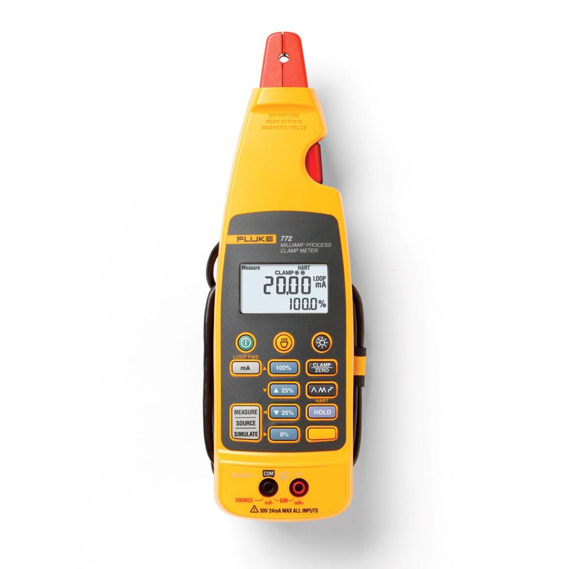 Clamp multimeter for 4-20mA Fluke 772