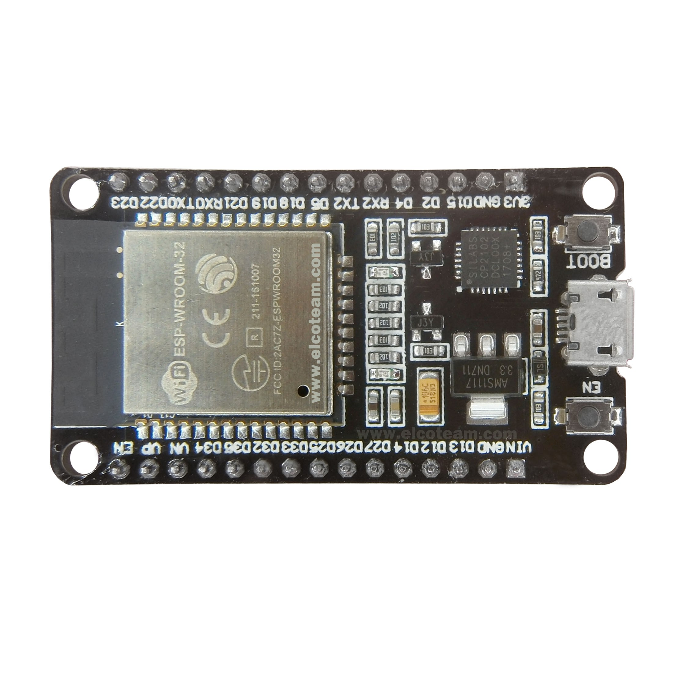ESP32 DevKIT V1 module with WiFi and Bluetooth BLE