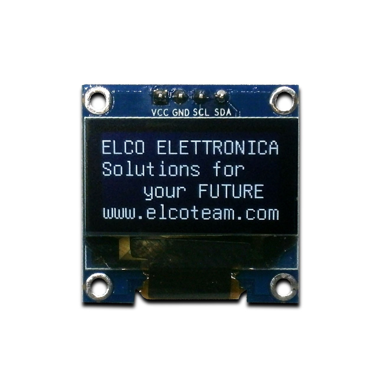 OLED display for Arduino 128x64 points SSD1306