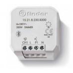 Finder 15.21.8.230.B300 Dimmer Bluetooth da incasso con 1 uscita 300 Watt - YESLY