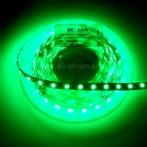 Striscia LED 5 Metri Colore Verde 12VDC 14,4W/m IP65