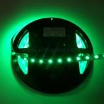 Striscia LED 5 Metri Colore Verde 12VDC 14,4W/m IP33