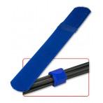 Fascette Ferma Cavi in Nylon e Velcro, 10pz, colore Blu