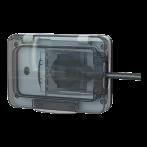 4box Wide Presa da esterno Schuko e Bipasso Impermeabile colore Grigio RAL7035