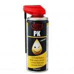 PK Spray Multiuso 7 Funzioni 400ml Lubrificante, protettivo, detergente, idroespellente, disossidante, anticongelante, sbloccante
