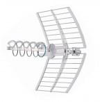 Antenna Elicoidale UHF Attiva Fracarro Elika PRO con Puntamento Led cod. 213227