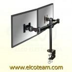 Supporto da scrivania per doppio monitor NewStar FPMA-D960D