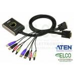 Aten CS682 Switch KVM USB DVI a 2 porte con audio