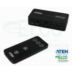 Switch HDMI 3 ingressi Aten VS381 - Proporzioni Reali