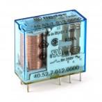 Finder 40.52.7.012.0000 Relè Elettromeccanico Bobina Sensibile 12 VDC