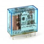Finder 40.61.7.012.0000 Relè Elettromeccanico Bobina Sensibile 12 VDC