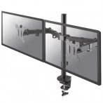 Supporto da scrivania per doppio monitor NewStar FPMA-D550DBLACK