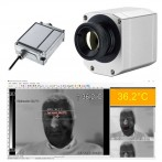 Sistema con Termocamera Optris Pi450i per Rilevamento della Temperatura Corporea