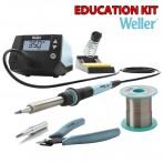 Weller WE1010 Education Kit Stazione Saldante con Tronchese, Lega Saldante e Punta di Ricambio cod. T0053298390