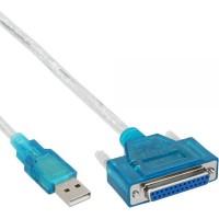 InLine 33397I Convertitore USB - Parallela/Stampante 25 poli