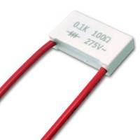 Condensatore Filtro Snubber RC 100nF + 100 Ohm 275VAC