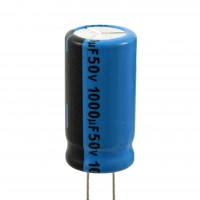 Condensatore Elettrolitico 1000uF 50 Volt 85°C Lelon 13x25 Lelon REA102M1HSA-1325P