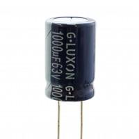 Condensatore 1000uF 63 Volt 85°C 16x26