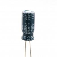 Condensatore Elettrolitico 1uF 100 Volt 105°C Jianghai 5x11