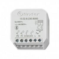 Finder 13.S2.8.230.B000 YESLY Relè Bluetooth da incasso per Tapaprelle e Tende Elettriche