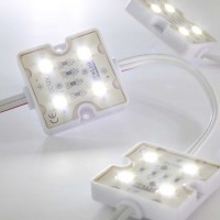 HT-Link M50D-4W12 Modulo a 4 LED Luce Fredda 12 VDC