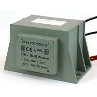 Trasformatore Incapsulato Eichoff 230V - 12V, 10V - 100VA EI84-31F/7002/212