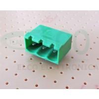 Connettore Maschio 3 poli passo 5mm STELVIO CPM SQ
