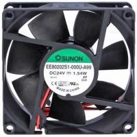 Sunon EE80202S1-000U-A99 ventilatore 80X80x20mm 24VDC su bronzina