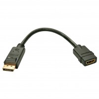 Lindy 41005 Adattatore DisplayPort a HDMI Attivo
