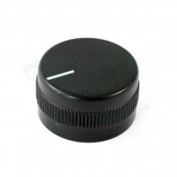 Manopola Nera  diametro 23mm con Indice