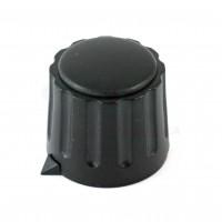 Manopola Nera diametro 22mm con Indice
