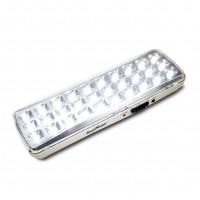 Alcapower 930352 Lampade di Emergenza Slim con 30 LED e Batteria al Litio