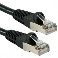 Cat5e FTP Network Cable 0-5m Black