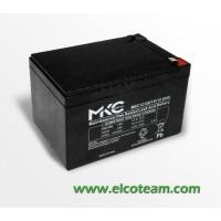 Batteria ermetica al piombo 12V 12Ah MKC