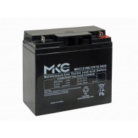 Batteria Ermetica Ricaricabile al Piombo 12V 18Ah MKC