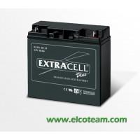 Batteria Ermetica Ricaricabile al Piombo 12V 20Ah Extracell
