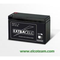 Batteria ermetica al piombo 12V 5,4Ah Extracell