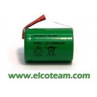 Batteria 4/5 SC 2.0Ah Ni-Mh lamella a saldare