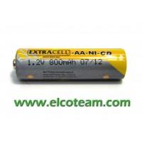 Batteria stilo AA 800mAh Ni-Cd
