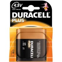 Pila DURACELL PLUS POWER Piatta da 4,5V