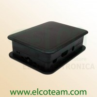 TEK-BERRY+ Case per Raspberry Pi model B+ colore nero