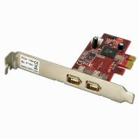 Lindy 51180 Scheda PCI Express 2 Porte FireWire
