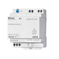 Finder 78.51.1.230.1203 alimentatore switching barra DIN 12V 50W con funzione caricabatteria