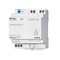 Finder 78.61.1.230.2403 alimentatore switching barra DIN 24V 60W con funzione caricabatteria