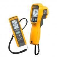 Promo Fluke 417D Metro Laser compatto per misure fino a 40m e Termometro ad infrarossi Fluke 62 MAX+