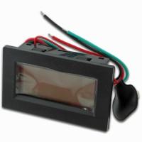 Voltmetro DC Digitale da Pannello 20/500 Volt DC precisione 0,5%