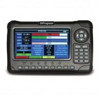 """DiProgess MAX2 Misuratore Combinato per TV, SAT e Fibra Ottica, FullHD con display 7"""" alta risoluzione"""