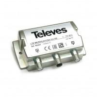 Televes 403301 Filtro LTE in-line a microcavità ad elevate prestazioni